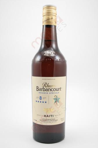 Rhum Barbancourt Five Star Reserve Speciale 8 Year Old Rum 750ml