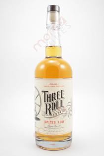 Three Roll Estate Spiced Rum 750ml