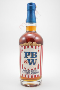 PB & W Peanut Butter Flavoured Whiskey 750ml