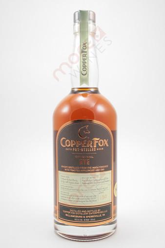 Copper Fox Rye Whisky 750ml