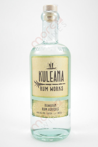 Kuleana Rum Works Rum Agricole 750ml