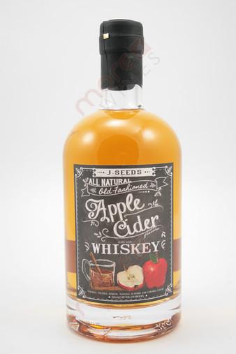 J. Seeds Apple Cider Whiskey 750ml