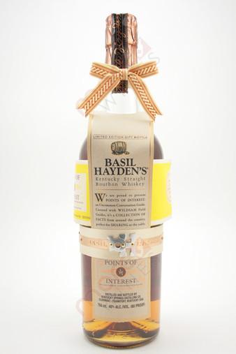 """Basil Hayden's """"Points of Interest"""" Kentucky Straight Bourbon Whiskey 750ml"""