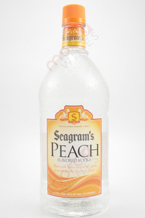 Seagram's Peach Flavored Vodka 1.75L