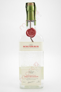 Schladerer Obstwasser Apple And Pear Brandy 750ml