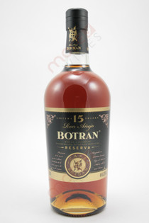 Botran 15 Year Old Reserva Anejo Rum 750ml