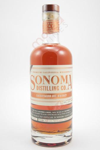 Sonoma Distilling Co. Cherrywood Rye Whiskey 750ml