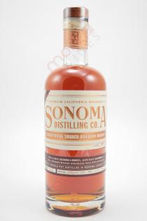 Sonoma Distilling Co. Cherrywood Smoked Bourbon Whiskey 750ml