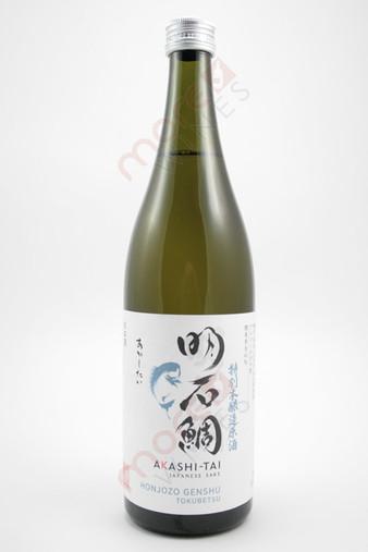 Akashi-Tai Tokubetsu Honjozo Genshu Sake 720ml