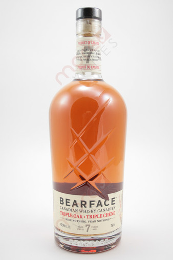 Bearface Triple Oak 7 Year Old Whisky 750ml