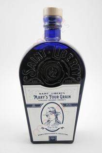 Saint Liberty Mary's Four Grain Straight Bourbon Whiskey 750ml