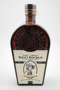 Saint Liberty Bertie's Bear Gulch Straight Bourbon Whiskey 750ml