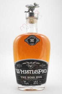 WhistlePig Farm 'The Boss Hog' Straight Rye Whiskey 750ml