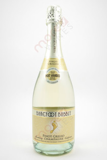 Barefoot Bubbly Pinot Grigio Champagne 750ml