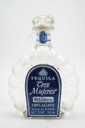 Tres Mujeres Tequila Blanco 750ml