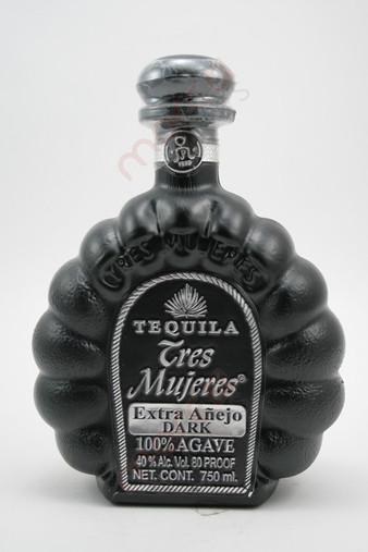 Tres Mujeres Tequila Extra Anejo Dark 750ml
