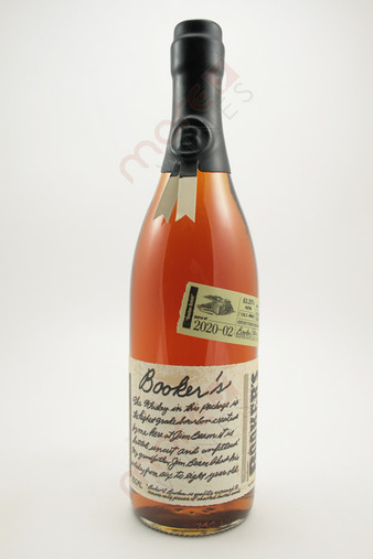Booker's Batch 2020-02 'Boston Batch' Kentucky Straight Bourbon Whiskey 750ml