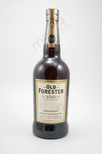 Old Forester 150th Anniversary Batch Proof Straight Bourbon Whiskey 750ml