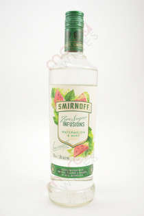 Smirnoff Zero Sugar Infusions Watermelon & Mint Vodka 750ml