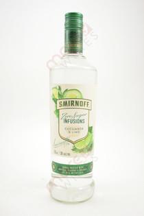 Smirnoff Zero Sugar Infusions Cucumber & Lime Vodka 750ml