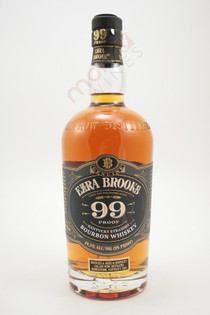 Ezra Brooks 99 Proof Kentucky Straight Bourbon Whiskey 750ml