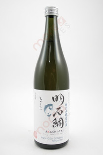 Akashi Sake 'Akashi-Tai' Tokubetsu Honjozo Genshu Sake 750ml