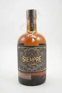 Siempre Tequila Anejo 750ml