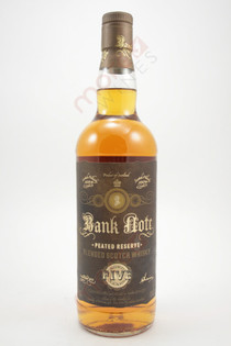 Bank Note Peated Reserve 5 Year Old Blended Scotch Whisky 750ml