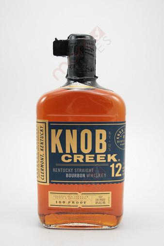 Knob Creek 12 Year Old Straight Bourbon Whiskey 750ml
