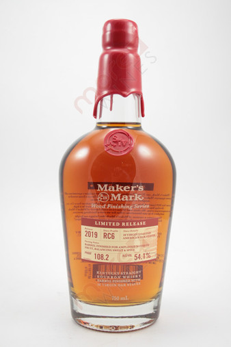 Maker's Mark 'RC6' Wood Finishing Series Limited Release Kentucky Straight Bourbon Whisky 750ml
