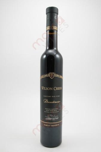 Wilson Creek & Vineyards Decadencia 375ml