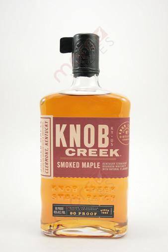 Knob Creek Smoked Maple Straight Bourbon Whiskey 750ml
