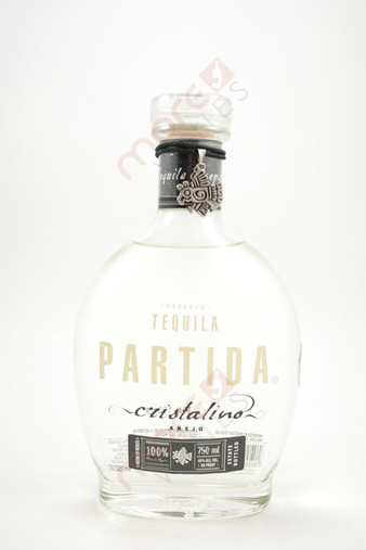 Partida Tequila Anejo Cristalino 750ml