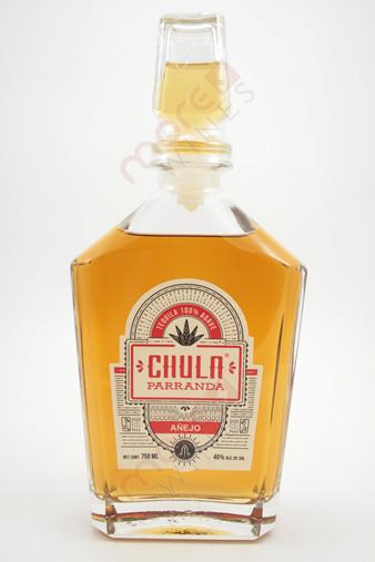 Chula Parranda Tequila Anejo 750ml