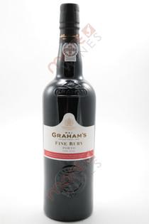 W & J Graham's Fine Ruby Port 750ml