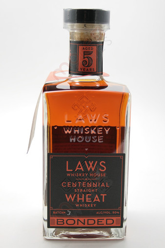 Laws Centennial Straight Wheat Whiskey 750ml