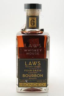 A.D. Laws Four Grain Straight Bourbon Whiskey 750ml