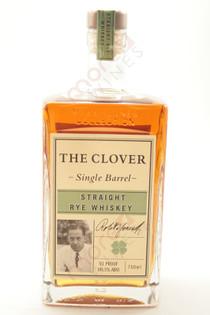The Clover Single Barrel Straight Rye Whiskey 750ml
