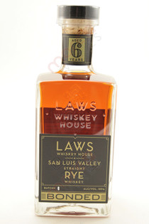 A.D. Laws San Luis Valley Straight Rye Whiskey 750ml