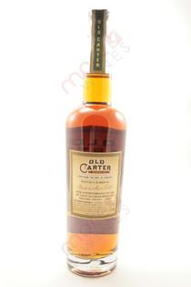 Old Carter Whiskey Co. Straight Rye Whiskey 750ml
