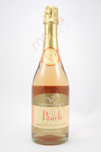 Van Roekel Peach Sparkin Grape Wine 750ml