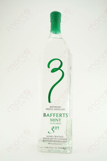 Bafferts Mint Flavored Gin 750ml