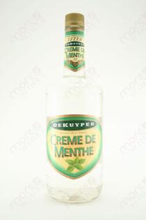 Dekuyper Creme de Menthe Liqueur White 1L