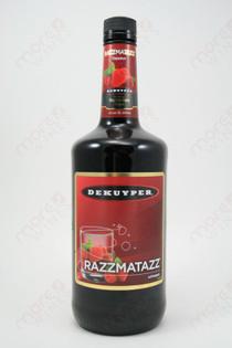 Dekuyper Razzmatazz Raspberry Liqueur 1L
