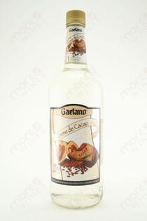 Gaetano Creme de Cacao Liqueur White 1L
