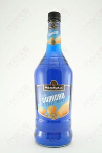 Hiram Walker Blue Curacao Liqueur 1L