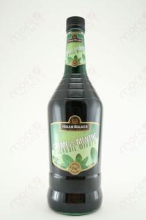 Hiram Walker Creme de Menthe Liqueur Dark 1L