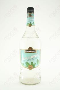 Hiram Walker Creme de Menthe Liqueur White 1L