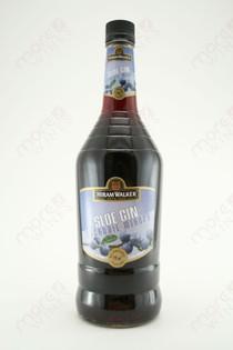 Hiram Walker Sloe Gin Liqueur 1L