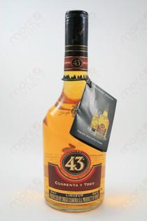 Licor 43 Cuarenta Y Tres Liqueur 750ml